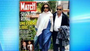Ségolène Royal couverture Paris Match