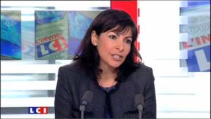Anne Hidalgo invitée politique de Christophe Barbier, LCI, le 12 novembre 2009.