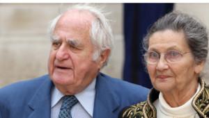Antoine Veil et Simone Veil