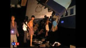 Catastrophe ferroviaire en Inde : les images