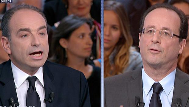 Hollande Copé Sarkozy UMP PS