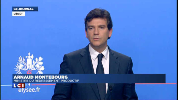 Montebourg présente les aides du gouvernement au secteur automobile