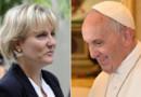 Nadine Morano et le Pape François