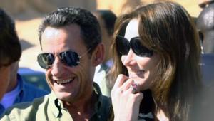 Nicolas Sarkozy et Carla Bruni en Egypte (27 décembre 2007)