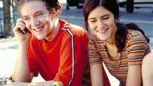 téléphone mobile portable France Télécom jeunes adolescents ados (PF Grosjean)
