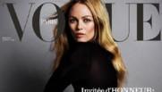 Vanessa Paradis en une de Vogue Paris
