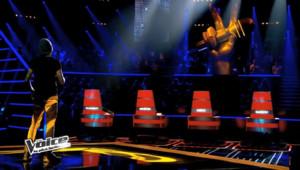 The Voice 3 - talents dos et face à Mika / Jenifer / Garou / Florent Pagny