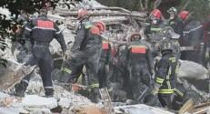 Les recherches dans les décombres de l'immeuble qui s'est effondré à Rosny, dans la nuit du 31 août.