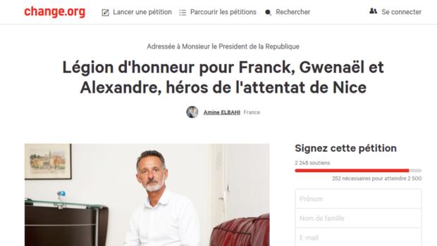 Pétition attentat de Nice