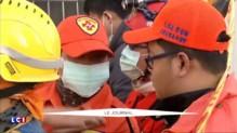 """Taiwan : """"Des signes de vie"""" sous les décombres"""