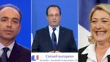 """Voeux de Hollande : Copé y voit """"une impasse"""", Le Pen """"du creux"""""""