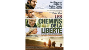 """Affiche française du film """"Les chemins de la liberté"""""""