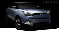 Le nouveau crossover de SsangYong, le Tivoli, destiné à concurrencer les populaires Renault Capture, Peugeot 2008 et Nissan Juke sur le marché européen.