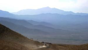 Montagnes afghanes/Image d'archives