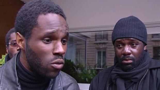 TF1/LCI - Kemi Seba (à gauche), le fondateur de l'ex-Tribu Ka