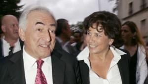 Image d'archives de Dominique Strauss-Kahn et Anne Sinclair en juin 2007