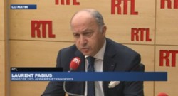 Laurent Fabius, invité de RTL (04/11/2013).
