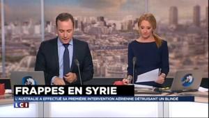 Syrie : première intervention aérienne de l'Australie, un blindé de Daech détruit