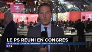 Congrès PS : Valls donne le ton ce samedi avec un discours engagé