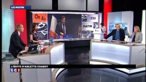 """L'EDITO d'Arlette Chabot : """"Un petit drapeau planté sur le chemin du retour par Sarkozy"""""""