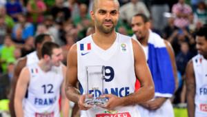 Tony Parker, élu meilleur joueur de l'Euro de basket 2013.