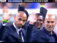 Bleu confidentiel Hommage et Coup d'arret