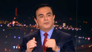 Carlos Ghosn au 20h de TF1