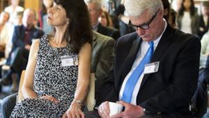 Diane et John Foley, les parents de James Foley