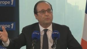 François Hollande invité d'Europe 1 mardi matin.