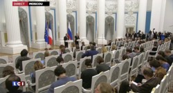 """Lutte contre le terrorisme : Poutine se dit """"prêt à la formation d'une vaste coalition"""""""