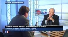"""Manuel Valls est """"capable de dialoguer"""" selon Jean-Paul Huchon"""