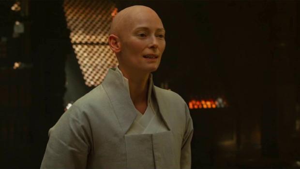 Tilda Swinton dans Doctor Strange