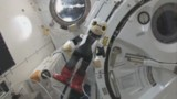 VIDEO. Les premiers mots d'un robot dans l'espace