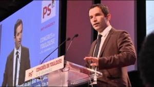 Benoît Hamon au Congrès du PS à Toulouse (27 octobre 2012)