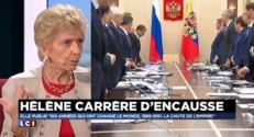 """Hélène Carrère d'Encausse : Poutine ? La France en a """"une vision un peu courte !"""""""