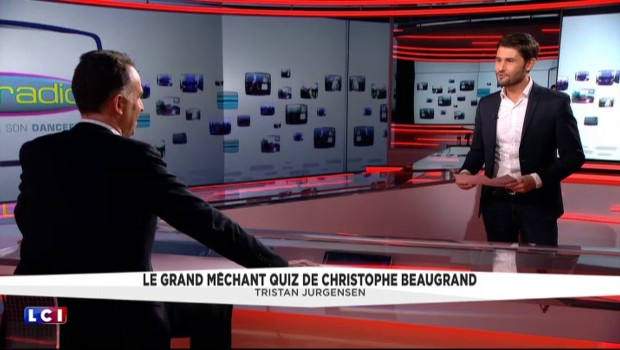 Le grand méchant quiz de Christophe Beaugrand : Tristan Jurgensen
