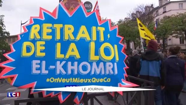 Loi Travail : deux nouvelles manifestations prévues le 26 mai et le 14 juin