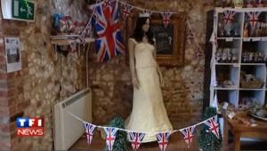 Une robe de mariée à croquer pour Kate Middleton