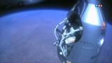 Chute libre depuis l'espace : Baumgartner plus rapide qu'annoncé