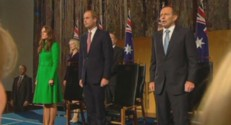 Kate, William et le Premier ministre australien
