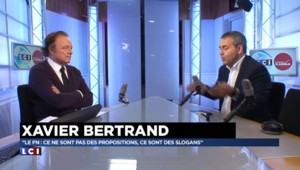 """Bertrand : """"Un problème Taubira dans notre pays"""""""