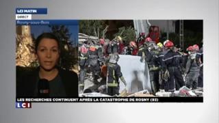 """Catastrophe de Rosny-sous-bois : """"La partie restante de l'immeuble menace de s'effondrer"""""""
