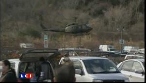 Japon: la course contre la monte pour retrouver des survivants