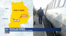 """Seine-et-Marne : un train percute un convoi exceptionnel """"bloqué au passage à niveau"""""""