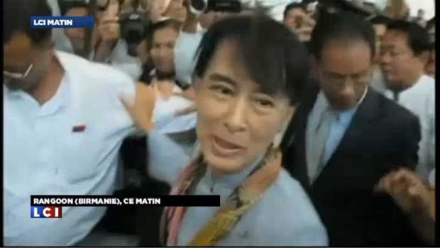 Suu Kyi quitte la Birmanie pour une tournée historique en Europe