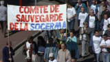 Manifestation en soutien aux salariés de la Sogerma