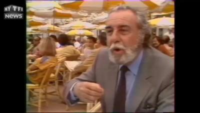 """C'était à Cannes : """"Est-ce qu'il y a des stars qui vous font rêver ? Oui, en plus j'en ai épousé une"""""""
