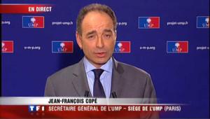 """Cantonales : """"l'abstention rend difficile les interprétations"""", selon Copé"""