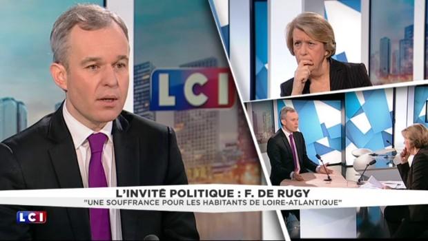 """De Rugy : """"Je ne crois pas que la nomination d'Ayrault soit liée à Notre-Dame-des-Landes"""""""