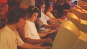 Joueurs jeux vidéo